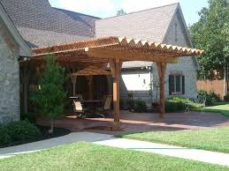 exterior amusing outdoor living space decoration using white
