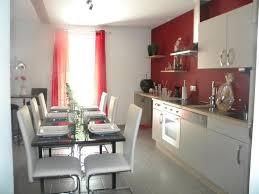 cuisine blanche et mur gris cuisine blanche mur idées décoration intérieure