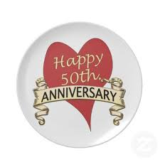 anniversary plates 50th anniversary 15 best 50th wedding anniversary plates images on