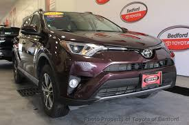 toyota awd 2017 used toyota rav4 xle awd at toyota of bedford serving