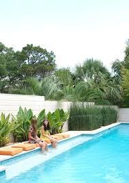 swimming pool gardens design kimber modern home tour apartment