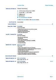 example of cv layout simple resume templates 75 examples free download