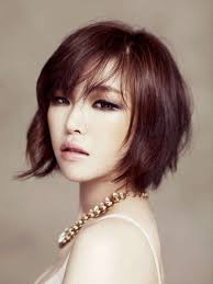 korean short hairstyles with bangs hairstyles and haircuts