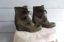sorel womens boots size 11 sorel womens joan of arctic wedge mid boots nl1987 grill black