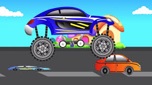 videos monster trucks kids games videos monster sports car crashing game for children