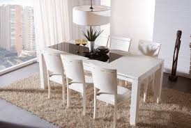 dining amazing white extendable dining tables bianca white high