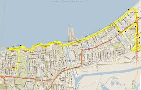 New Orleans Levee Map by New Orleans Bicycle Club Local Training Rides