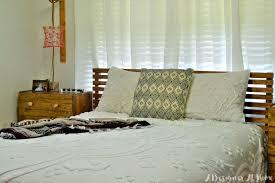 ikea bedframe hack how i made it mid century inspired ikea tarva bed hack a