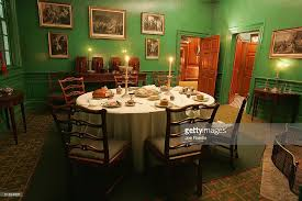 Mount Vernon Prepares For Christmas Photos And Images Getty Images - Mount vernon dining room
