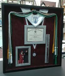 graduation shadow box shadow boxing frame it shadow boxing by frame it