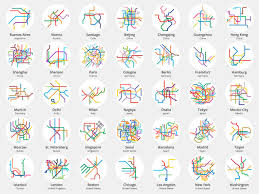 Barcelona Metro Map by Peter Dovak On Twitter