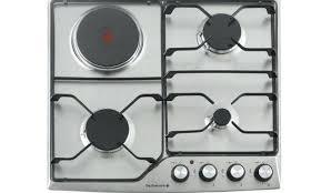 darty bureau table de cuisson mixte blanche table de cuisson mixte gaz induction