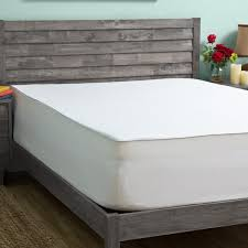 slumber solutions 3 inch memory foam mattress topper with egyptian