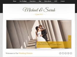 the best wedding websites 20 best wedding website templates css html ginva