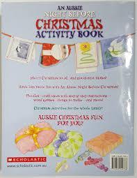 an aussie night before christmas activity book u2013 thrifty teachers