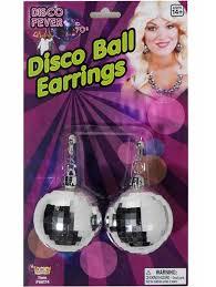 70 s earrings 70 s disco costume earrings