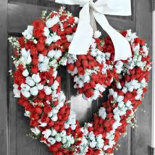 Valentine S Day Front Door Decor by Shop Valentine Door Wreath On Wanelo