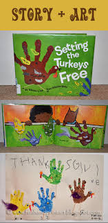 setting the turkeys free book colorful printed turkeys