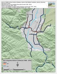 Jackson Hole Map Give Wildlife A Brake Jackson Hole Wildlife Foundation