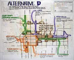 Pasadena Ca Map Alternatives General Plan City Of Pasadena California