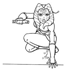 ahsoka tano coloring pages gallery coloring ideas 2480