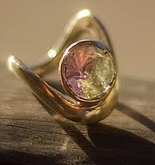 quartz engagement ring tourmaline quartz engagement ring in yellow gold macchiarini