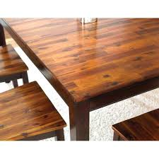 cozy homelegance mattawa rectangular dining table with butterfly