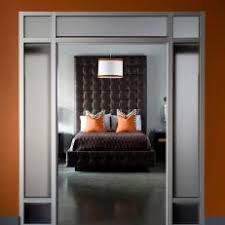 orange modern bedroom photos hgtv