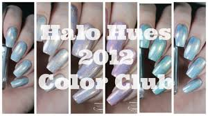 swatches color club halo hues 2012 collection youtube