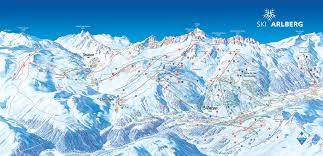 Austria Map Ski Alberg Austria Map Stuben St Chrisoph And St Anton Epic