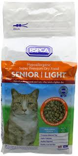rspca dry cat food super premium senior light 2 kg amazon co uk