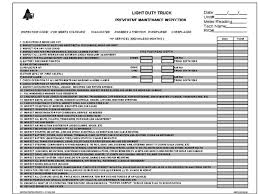 preventive maintenance forms resumesss franklinfire co
