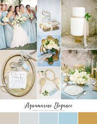 aquamarine wedding aquamarine elegance wedding inspiration in