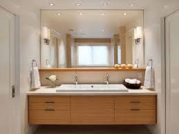 bathroom design mid century modern bathroom vanity led light two