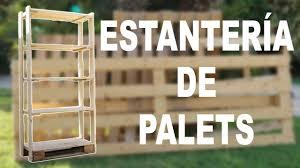 pallet shelf youtube