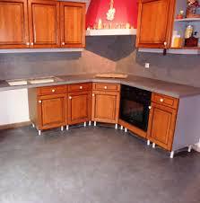 beton ciré cuisine plan travail béton ciré cuisine sur ancien carrelage