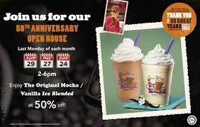 Coffee Bean Blended the coffee bean tea leaf anniversary half price promotions malaysia
