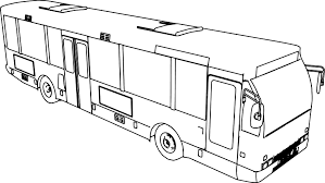 emt l bus coloring page wecoloringpage