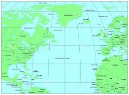 Oceans Map Atlantic Ocean Stock Photos U0026 Pictures Royalty Free Atlantic
