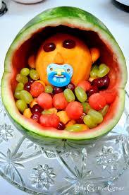 photo baby shower fruit cake image