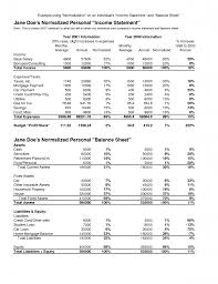 Excel Balance Sheet And Income Statement Template Sle Income Statement For Small Business 10 Sle Income