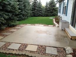 amazing of concrete patio ideas for small backyards concrete patio