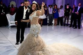 coming to america wedding dress rhoa here s a look at kandi burruss wedding special