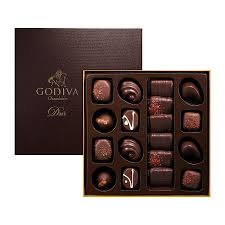 Chocolate Delivery Godiva All Dark Chocolate Deluxe Delivery In Europe Others Godiva