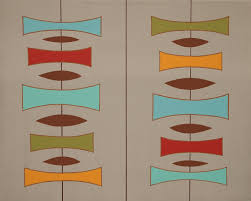 Mid Century Patterns They U0027ve Researched And Done Paint Analysis On Historic Properties