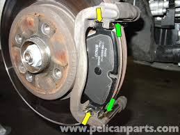 mini cooper brake pad replacement r50 r52 r53 2001 2006