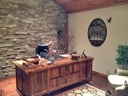 Rustic Wood Office Desk Reclaimed Wood Office Desk Office Design
