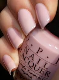 baby pink color nails images