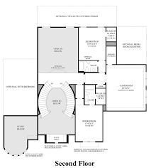 cinco ranch ironwood estates the sandhaven home design 2nd floor floor plan