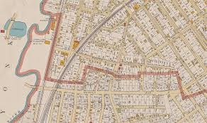 Chicago City Limits Map by How The Bronx U0027s Uneven Border With Westchester Came To Be Curbed Ny